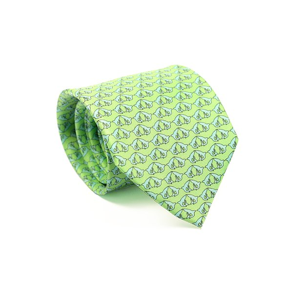 green tie for wedding