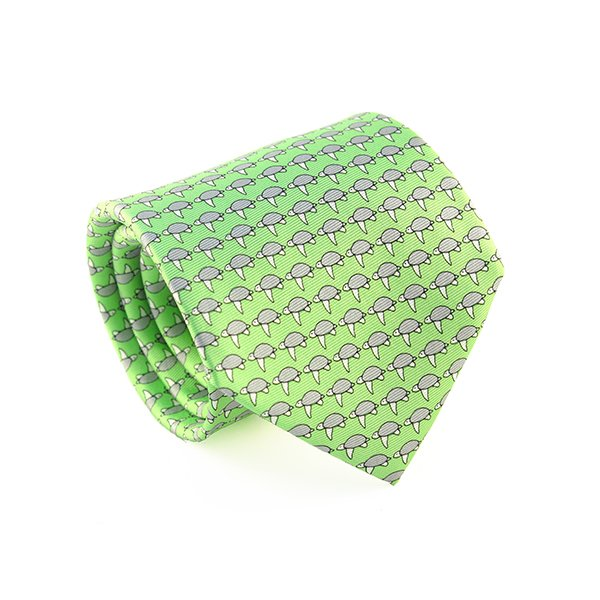 reef knot tie with seaturtles