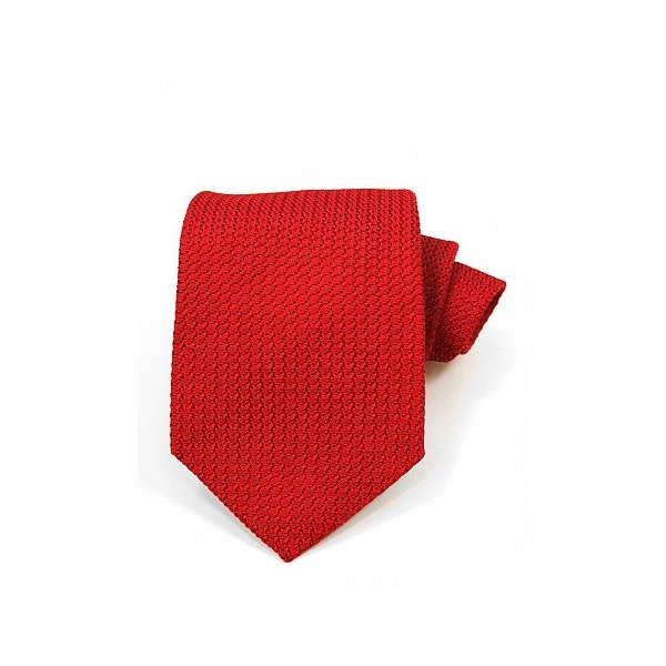 red tie for navy suit