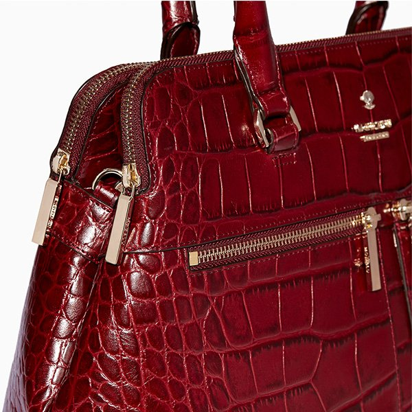 Modalu Pippa Berry Handbag Hacker Amp Case